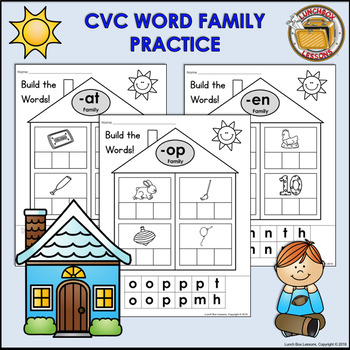 CVC Word Family Practice