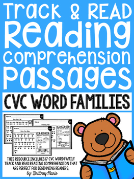 Word Family Reading Passages