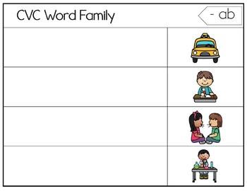 CVC Word Family. Short Vowel. Center Activities. Intervention. Magnet.