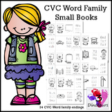 CVC Word Family Small Book