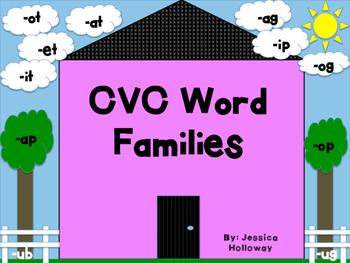 CVC Word Family Sort