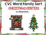 CVC Word Family Sort- Christmas