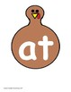 CVC Word Family Sort with Turkeys
