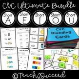 Yearlong CVC Word Family Spelling Pack {BUNDLE}