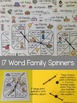 CVC Word Family Spinners (FREE)