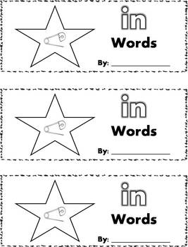 CVC Word Family Stamp Books - Short I Words