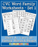CVC Word Family Vol.1 - Short A