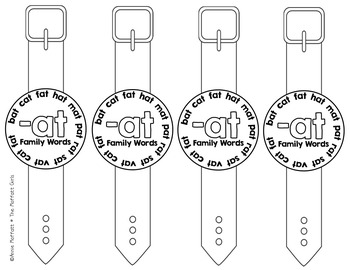 CVC Word Family Watches!