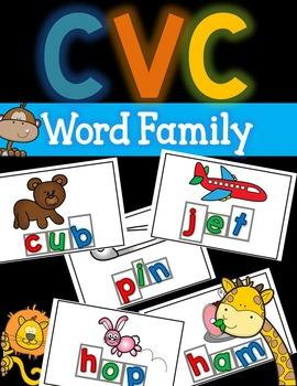 CVC Mats - Short Vowels