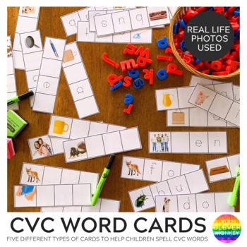 CVC Word Family Word Strips