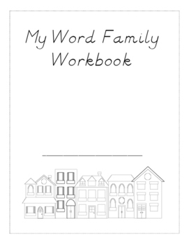 CVC Word Family Workbook