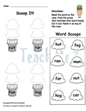 CVC Word Family Worksheet