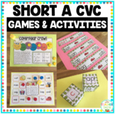 CVC Word Family 'a' Word Work & Games