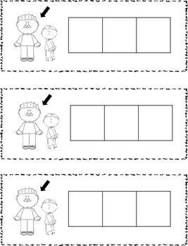 CVC Word Family (ad words) Stamp Book {FREEBIE}