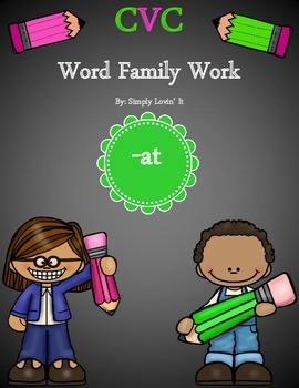 CVC Word Family -at
