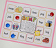 CVC Word Family 'o' Word Work & Games