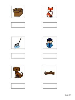 CVC Word File Folders