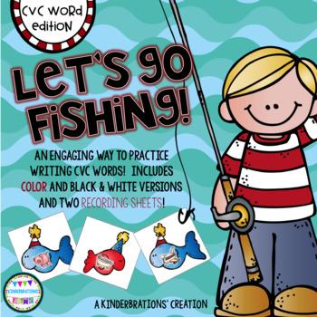 CVC Word Fishing Game