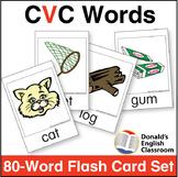 CVC Word Flashcard Set