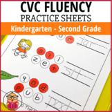 CVC Word Practice Worksheets