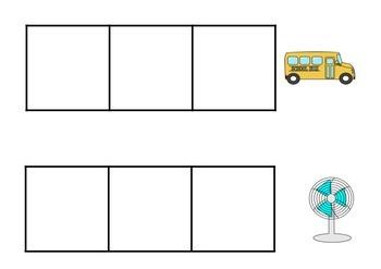 CVC Spelling Word Frames