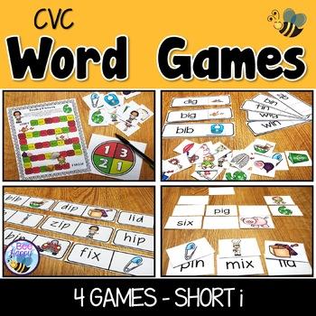 CVC Word Games Short i
