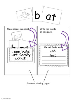 CVC Word Interactive Notebook