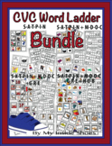 CVC Word Ladder Bundle