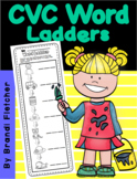 CVC Word Ladder Worksheets