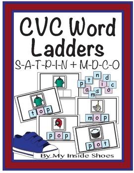 CVC Word Ladders (Set 2)