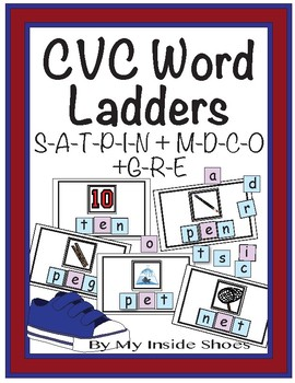 CVC Word Ladders (Set 3)