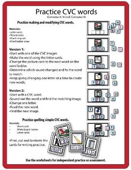 CVC Word Ladders (Set 4)