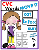 CVC Word JUST MOVE! (A Get Up and Move Around the Classroom Game)