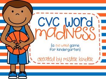 CVC Word Madness