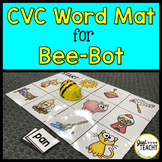 CVC Word Mat for Bee Bot Coding Robot