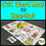 CVC Word Mat for Bee Bot Coding Robot