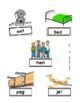 CVC Word Match- File Folders