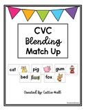 CVC Word Match Up