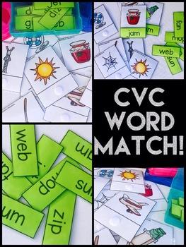 CVC Word Matching
