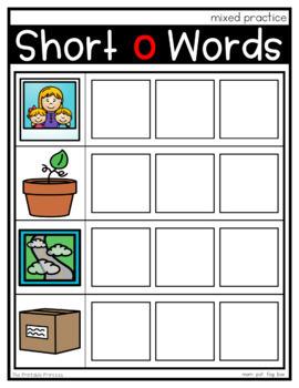 CVC Word Mats - Magnetic Letters {Kindergarten Literacy: CVC Words}