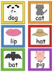 CVC Word Mats and Word Cards