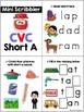 CVC Word Mini Scribblers