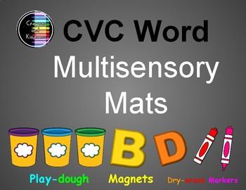 CVC Word - Multisensory Mats