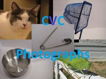 CVC Word Photographs Freebie