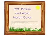 CVC Word Picture Match