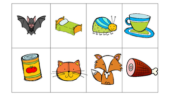 CVC Word/Picture Matching Game