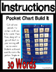 CVC Word Pocket Chart Literacy Center (30 CVC Words and Word Cards)