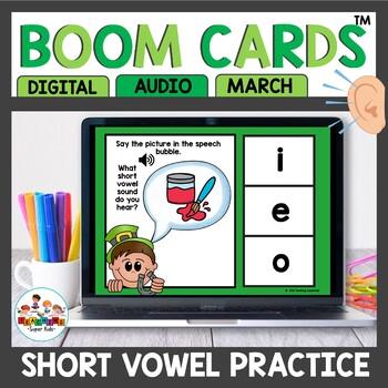 Short Vowel Word Practice Boom Cards
