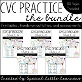 CVC Practice Bundle (All Short Vowels Included)