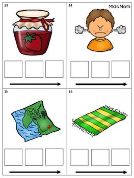 CVC Word Practice Cards